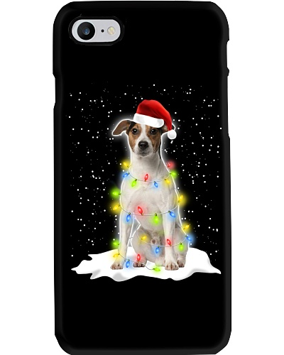 Jack Russell Christmas Lights