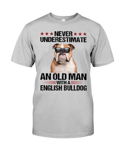 Old Man English Bulldog