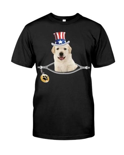 Zip - Yellow Goldador puppy