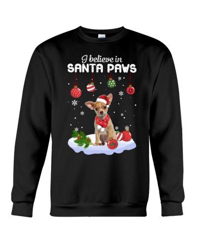 Chihuahua Santa Paws