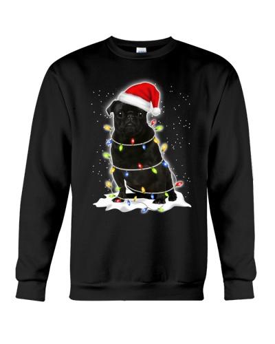 Pug Christmas Lights