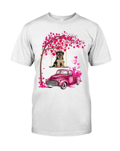 Yorkipoo - Tree Love Valentine