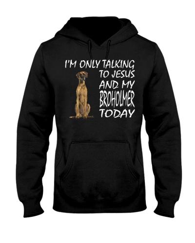 Danish Mastiff and Jesus