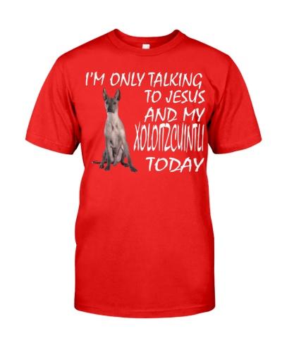 Xoloitzcuintli and Jesus
