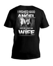 My Wife V-Neck T-Shirt back