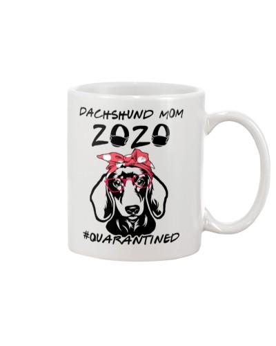 Dachshund Mom 2020 - Quanrantined
