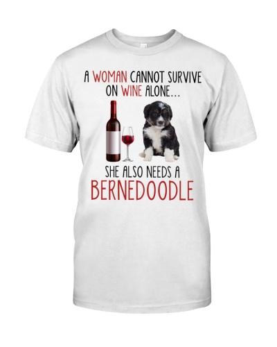 She Also Needs - Bernedoodle