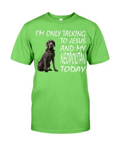 Neapolitan Mastiff and Jesus