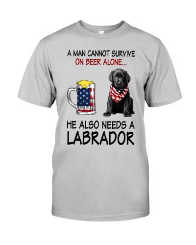 a man cannot survive - Labrador