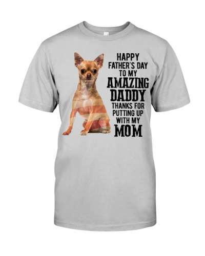 Happy Father Day - Chihuahua