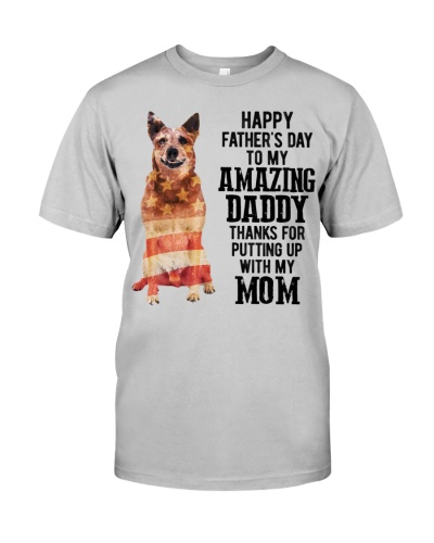 Father Day - Red Heeler