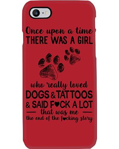 Girl Love Dog and Tattoos