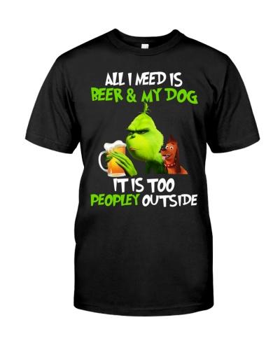All i need is Beer dog