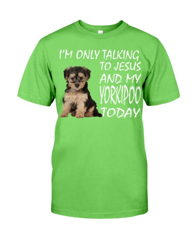 Yorkipoo and Jesus