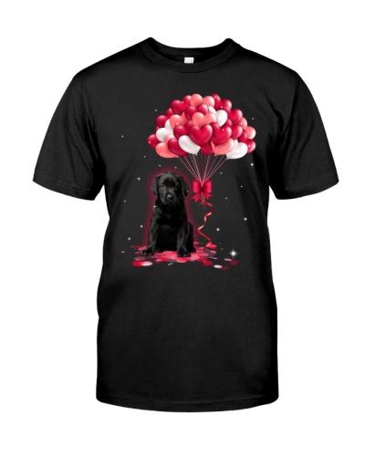 Black Labrador Love Balloons