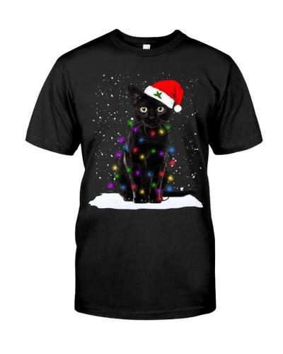 Cat Christmas Lights