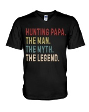 Hunting PAPA V-Neck T-Shirt thumbnail