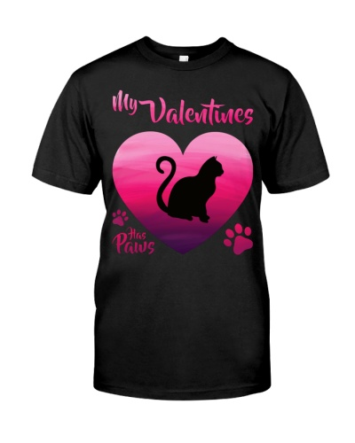 Cat - My Valentines Has Paws