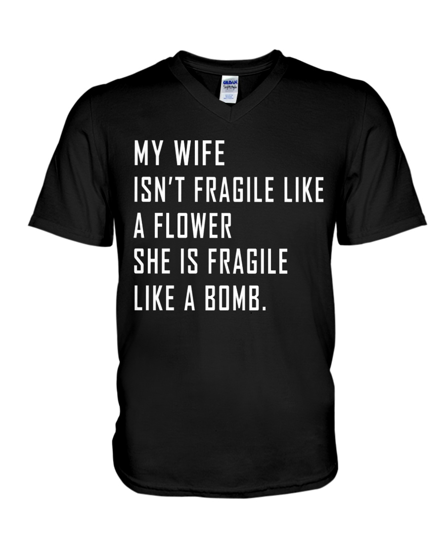 My Wife V-Neck T-Shirt