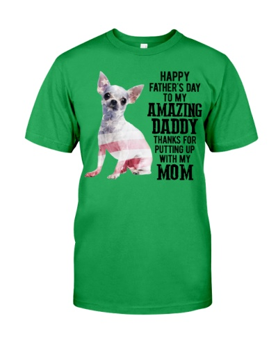 Father Day - Chihuahua White