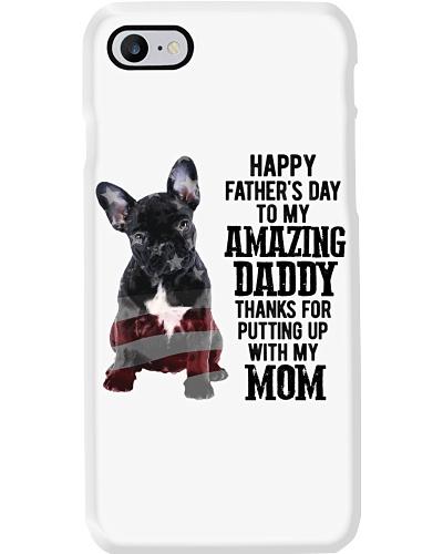 Happy father Day - French Bulldog