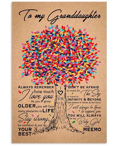 To My  Granddaughter Blanket