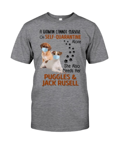 Quarantine With Puggle Jack Russell