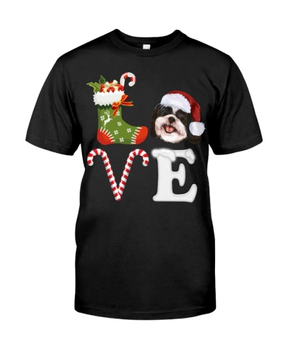 Shih Tzu Love Xmas T-Shirt