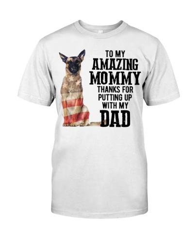 Amazing Mommy - Belgian Malinois Dog