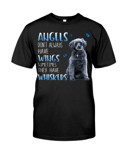 Schnoodle Angels Don't Always Have Wings