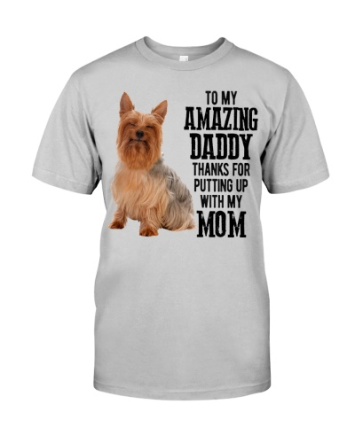 Silky Terrier Amazing Daddy