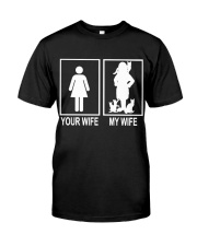MY WIFE LOVE CATS Classic T-Shirt thumbnail