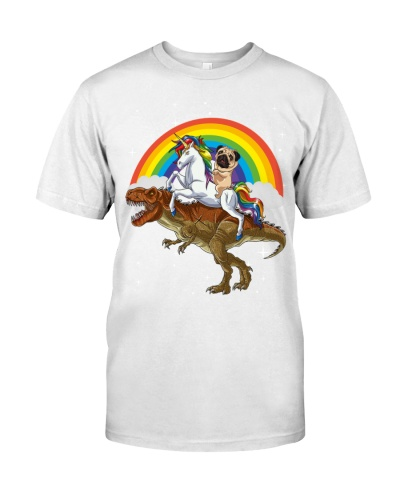 T-rex Pug and Unicorn
