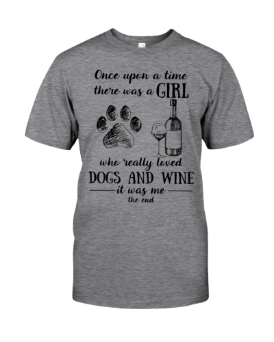 Once Upon a Time Girl - Dogs and Wine Lover