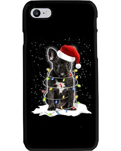 French Bulldog Christmas Lights