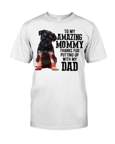 Amazing Mommy - Border Terrier