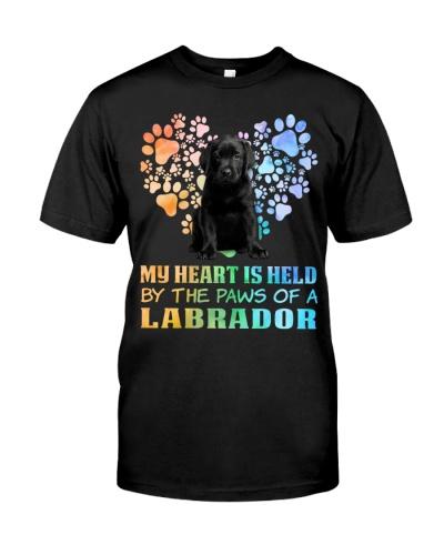 Heart Dog Black Labrador