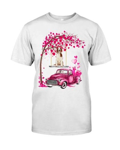Welsh Springer Spaniel - Tree Love Valentine