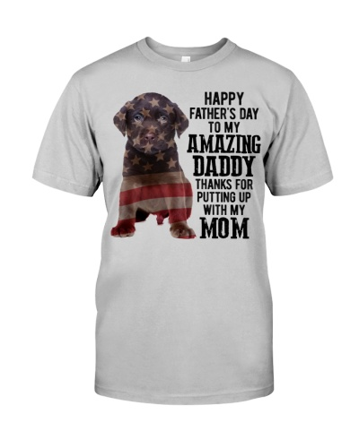 Father Day - CHOCOLATE labs