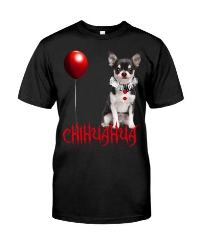 Chihuhua Halloween Clown