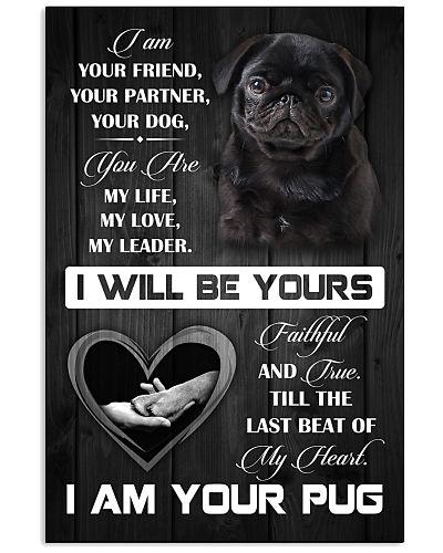 Love Pug - Poster