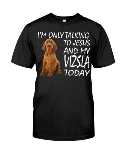 Vizsla and Jesus