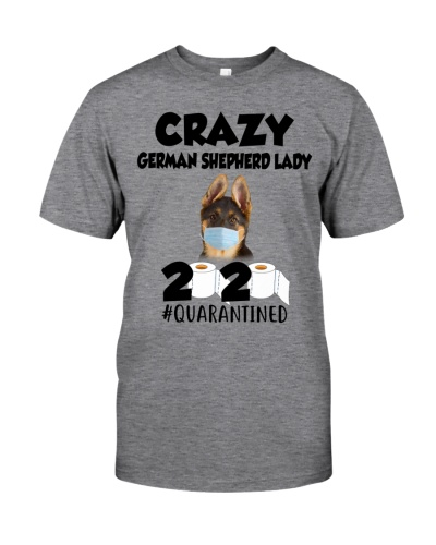 Crazy German Shepherd Lady Quarantined