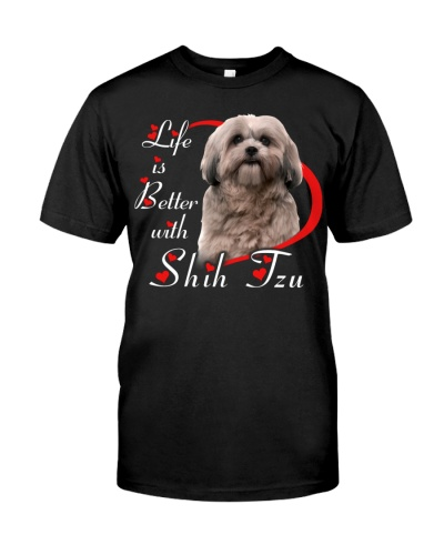 Life Is Better With Shih Tzu