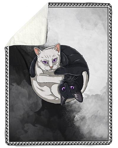 Cats Yin Yang Blanket