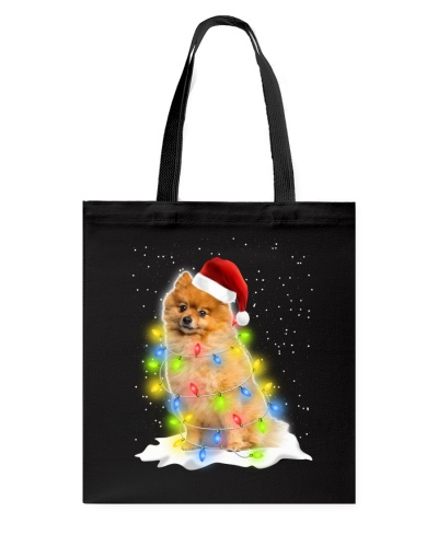 Pomeranian Christmas Lights