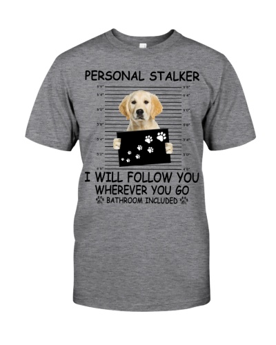 Personal Stalker - Golden Retriever