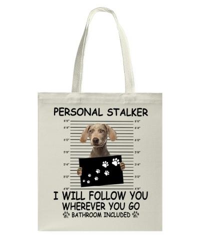Personal Stalker Weimaraner