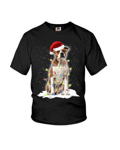 American Bulldog Christmas Lights