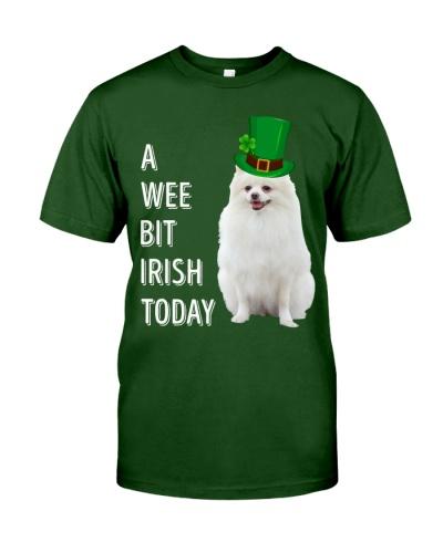 White Pomeranian Irish Today
